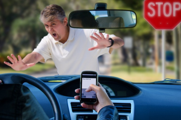 distracted driving texting
